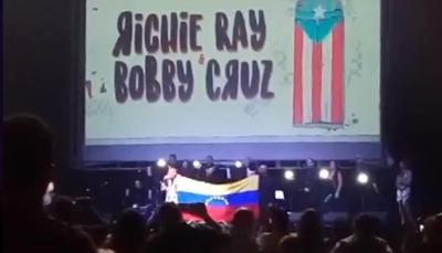 Alex De castro en concierto Richie Ray y Bobby Cruz 25-2-19 Jackeline Del Toro