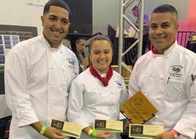 Escuela Hotelera - ganan competencia - Foto suministrada - octubre 28 2019
