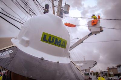 Luma Energy - obrero - casco - Foto via Luma Twitter - junio 11 2021