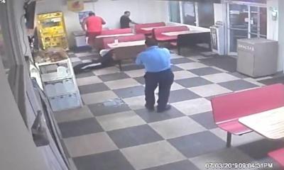 Policia - panaderia - asalto - Vega Baja - Captura de pantalla - julio 8 2019
