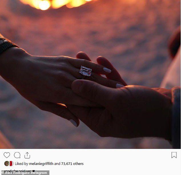 Alex Rodriguez y Jennifer Lopez - Foto via Instagram - marzo 11 2019 - 3