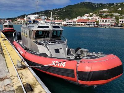 Coast Guard embarcación