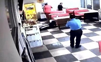 Policia - agente - intervencion - asalto - Captura de pantalla - julio 8 2019