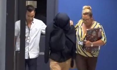 Policia - sospechoso de matar a su madre en Canovanas - Captura de pantalla Telenoticias - junio 20 2019