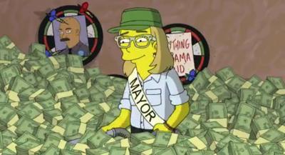 VÍDEO: Alcaldesa de San Juan aparece en Los Simpsons