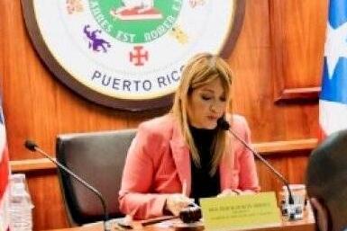 Comisión de Educación de la Cámara, presidida por la representante Deborah Soto