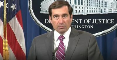 Estados Unidos - Departamento de Justicia federal - Captura de pantalla - julio 23 2020