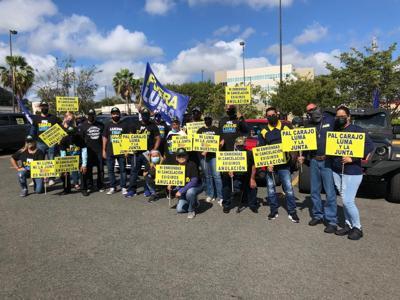Conmemoran el Día de los Trabajadores exigiendo la cancelación del contrato de LUMA