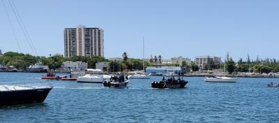 Bahia de San Juan - accidente aereo - Foto suministrada - junio 3 2020