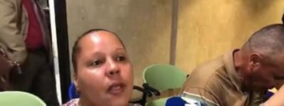 Madre de joven que quemo a su noviecita habla - Captura de pantalla - marzo 26 2019