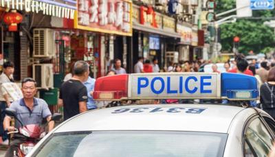 Policia - China - Beijing - enero 8 2019