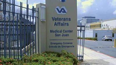 Hospital Veteranos Puerto Rico - Foto via FEMA - abril 21 2020