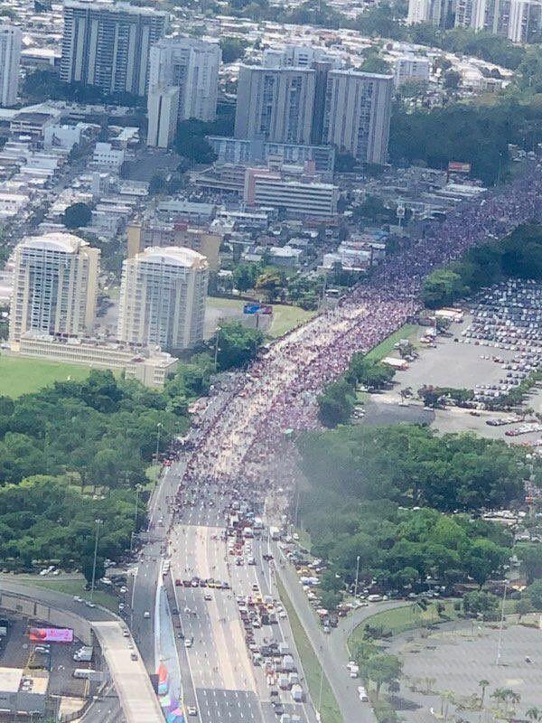 Manifestacion - protesta - expreso - Foto suministrada - julio 22 2019