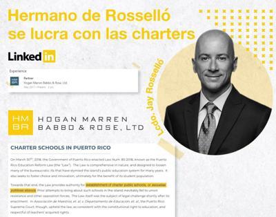 Jay Rossello - escuelas charter - abril 5 2019