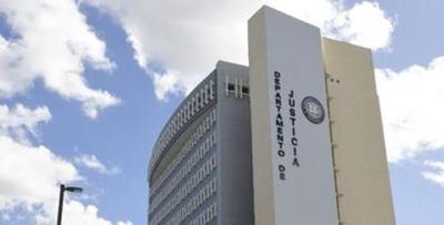 Departamento de Justicia - sede - julio 22 2020