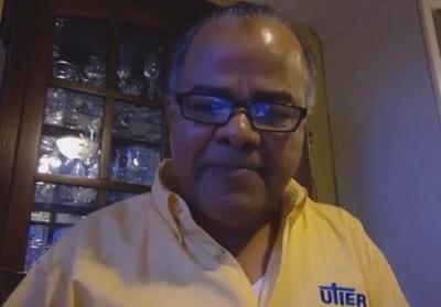 Ricardo Santos - expresidente UTIER - Foto captura de pantalla YouTube