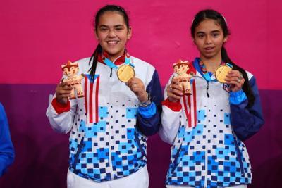 Adriana y Melanie Díaz Juegos Panamericanos 2019