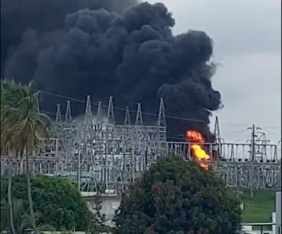 Monacillos - explosion - subestacion - Captura de pantalla - junio 11 2021