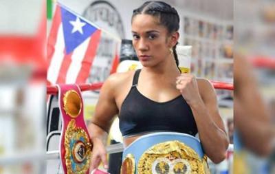 Amanda Serrano - boxeadora puertorriqueña - enero 18 2019