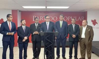 PPD - populares - conferencia de prensa - Foto suministrada - enero 28 2019