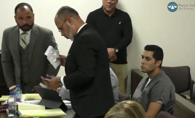 Jensen Medina - Jorge Gordon y abogados en vista preliminar - Foto captura de pantalla - septiembre 12 2019