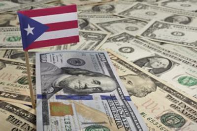 Dinero - bandera Puerto Rico - febrero 13 2019