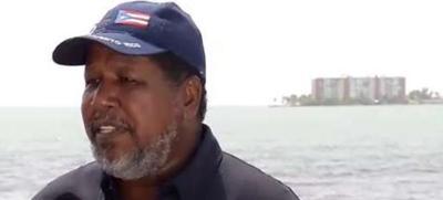 Nino Correa - rescatista - Foto captura de pantalla - agosto 22 2019
