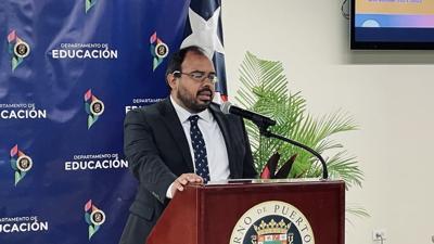 Eliezer Ramos - secretario interino - Departamento de Educación