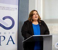 Presidenta Colegio CPA
