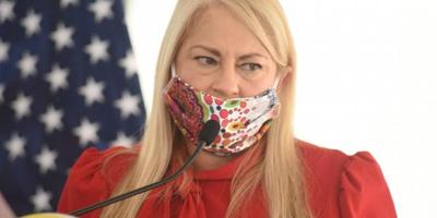 Wanda Vazquez - gobernadora - Foto via Metro - junio 3 2020