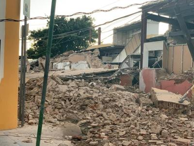 Guayanilla - terremoto - Foto via Twitter - enero 10 2020