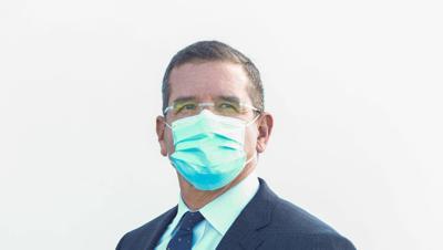 Pedro Pierluisi con mascarilla - Foto PP Twitter - enero 5 2021