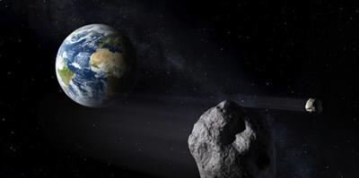 Asteroide - planeta Tierra - Foto suministrada - noviembre 16 2020