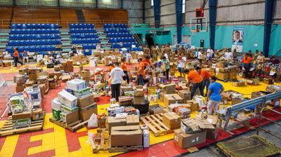 Puerto Rico Cambia envia ayuda a las bahamas