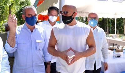 Vin Diesel - Luis Abinader - Republica Dominicana - Captura de pantalla - enero 29 2021