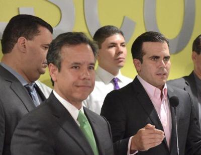 Miguel Romero y el gobernador