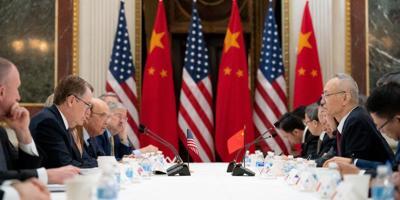 Estados Unidos - China - reunion - acuerdo comercial - Foto via USA en Español - enero 16 2020