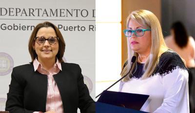Wanda Vazquez - Denisse Longo - montaje - julio 8 2020