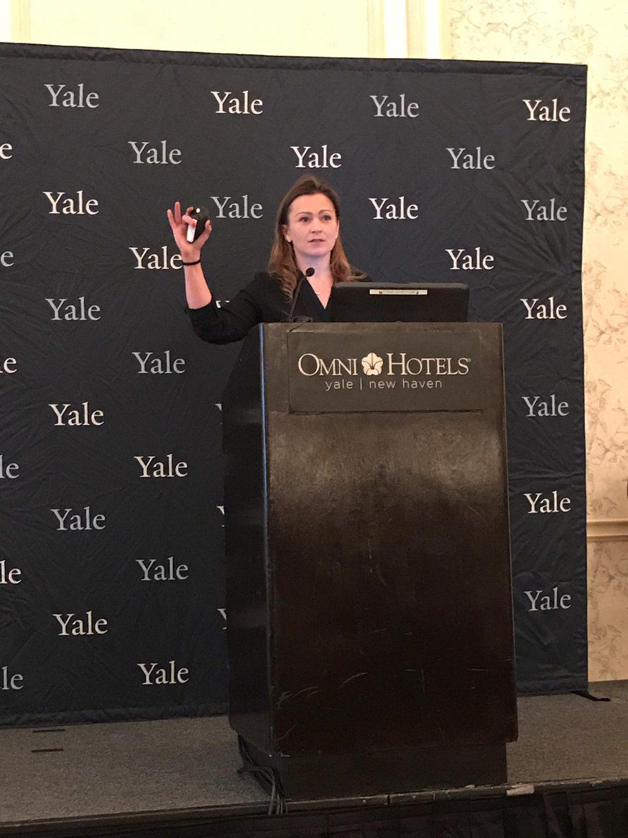 Julia Keleher conferencia de Yale
