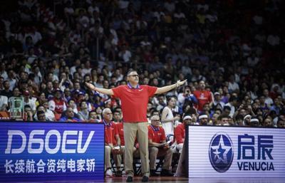 Eddie Casiano - dirigente equipo baloncesto Puerto Rico - Foto via Twitter - septiembre 4 2019