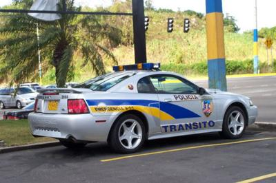 Patrulla - transito - Foto Policia de Puerto Rico - julio 21 2019