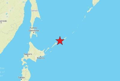 Sismo - Rusia - Islas Kuriles - febrero 13 2020