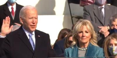 Joe Biden juramenta como nuevo presidente - enero 20 2021