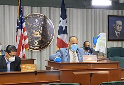 Juan Oscar Morales - presidente de la Comisión de Salud de la Cámara de Representantes - Foto suministrada 5 - mayo 11 2020