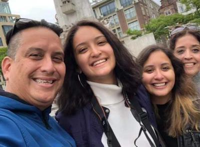 Andrea Miranda Aviles - jayuyana - escogida en programa en Universidad de Berlin - Foto via Facebook - octubre 17 2019