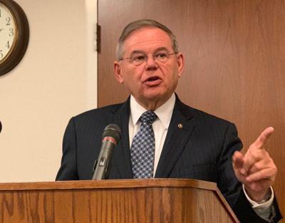 Senador demócrata por New Jersey, Bob Menéndez.