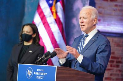 Joe Biden - Kamala Harris - Foto via Twitter Joe Biden - diciembre 23 2020