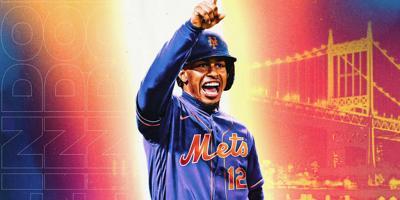 Francisco Lindor - Foto via MLB - abril 1 2021