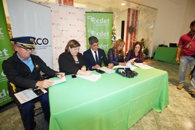 DACO y ACDET (Asociación de Comerciantes) firman acuerdo