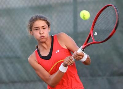 Tenis - Natalia Perez - tenis juvenil - Foto suministrada - junio 13 2019